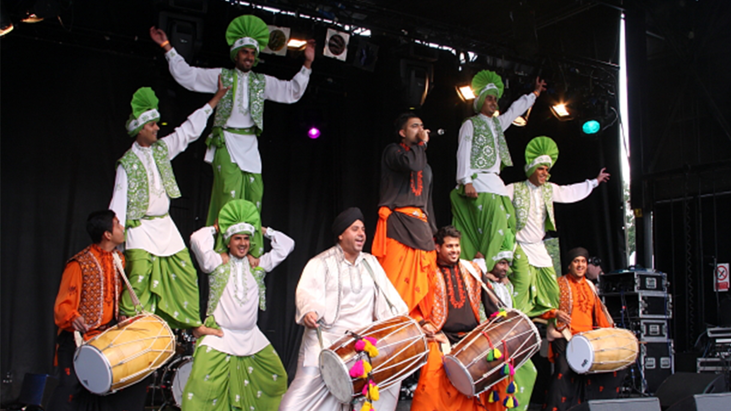 Four by Four Bhangra at Bristol Harbour Festival!