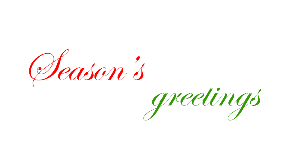 Season's greetings image