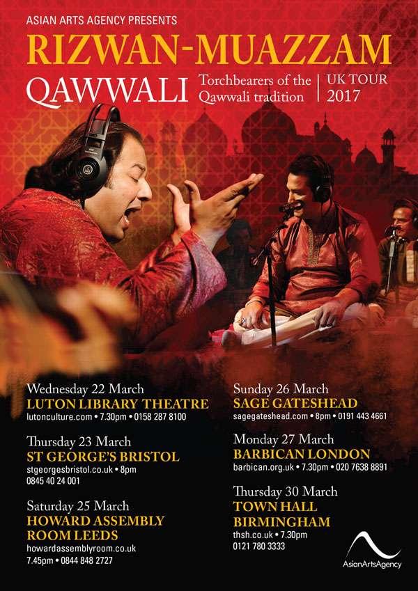 Rizwan-Muazzam Tour flyer