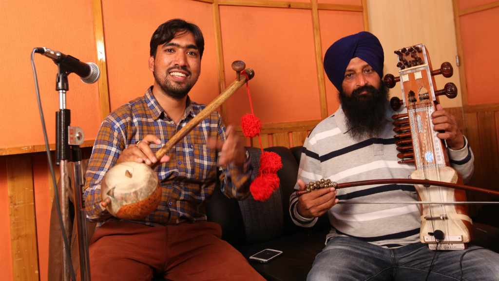 Punjabtronix Creative Residency - musicians photo