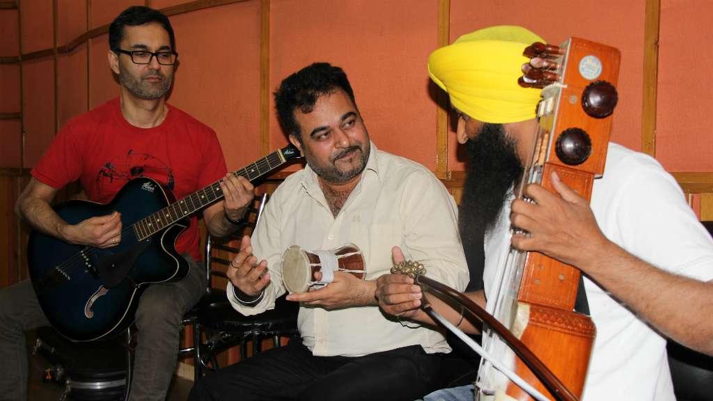Punjabtronix residency musicians jam