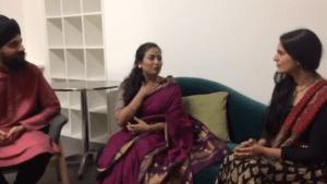Aashi Gahlot interviewing Debasmita Bhattacharya and Gurdain Rayatt