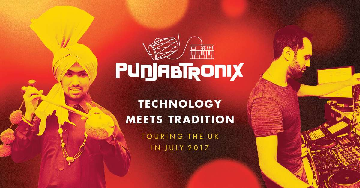 PunjabTronix tour image - Punjabi musicians arrive in the UK