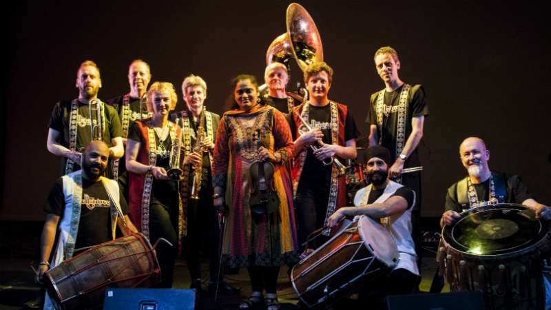 Jyotsna Srikanth and The Bollywood Brass Band