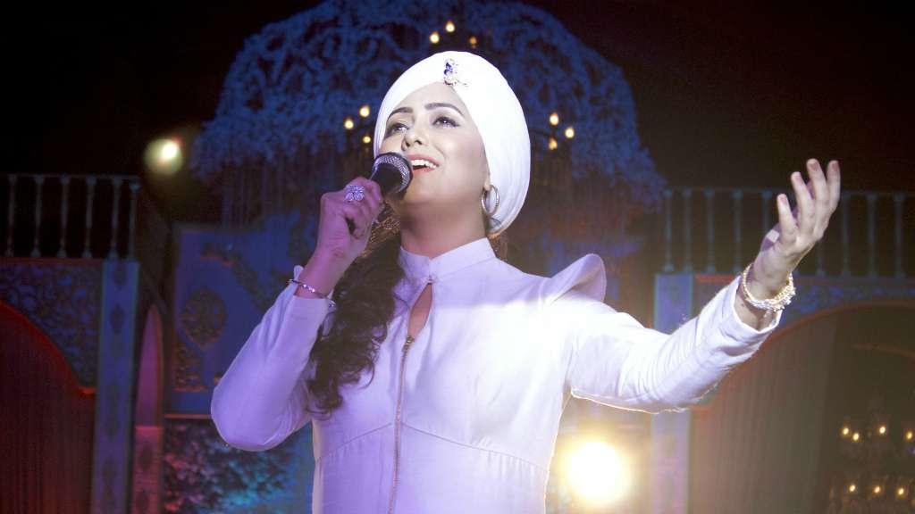 Indian singer Harshdeep Kaur image
