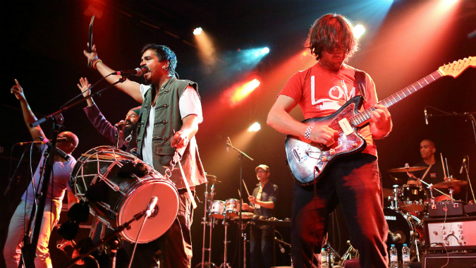 Red Baraat live image