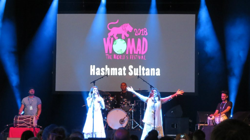 Hashmat Sultana WOMAD 2018