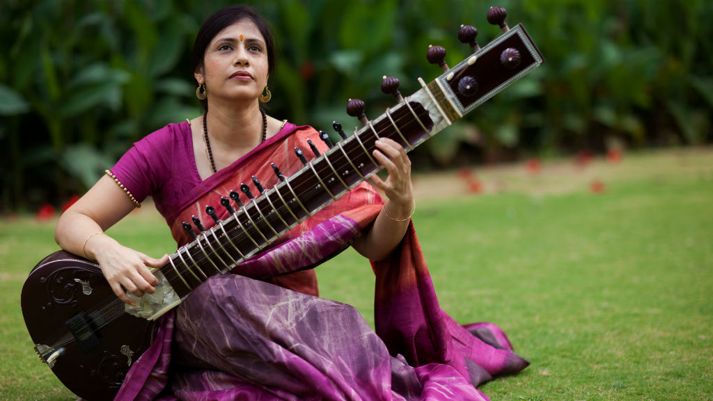 Anupama Bhagwat performs an Indian Classical Raag
