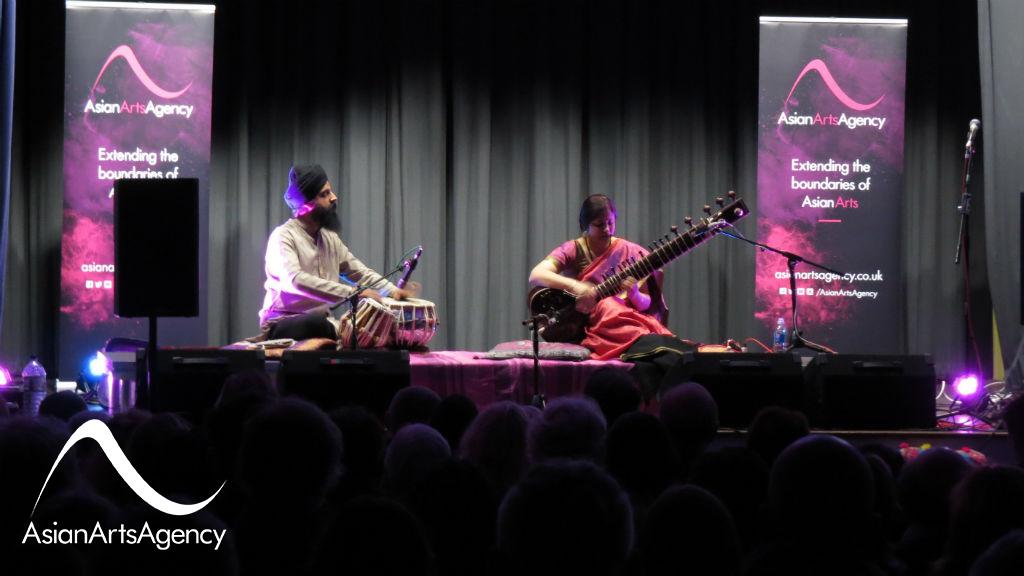 Anupama Bhagwat & Gurdain Rayatt Performing at Glastonbury Town Hall