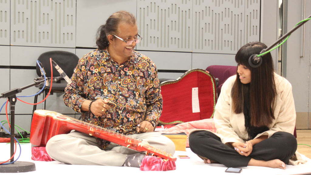 Debashish & Anandi Bhattacharya at BBC Radio 3