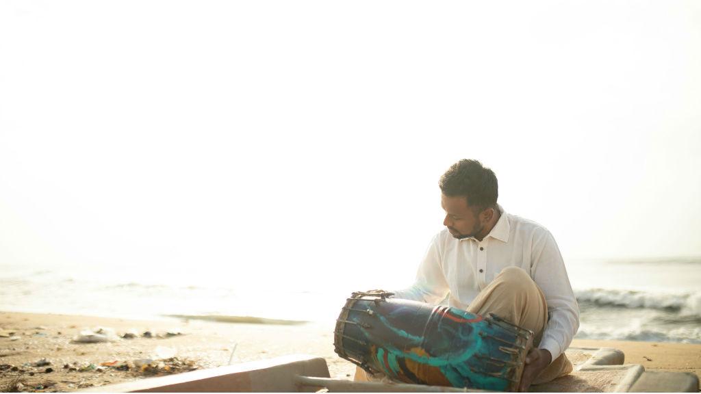 Carnatic artiste Praveen Sparsh