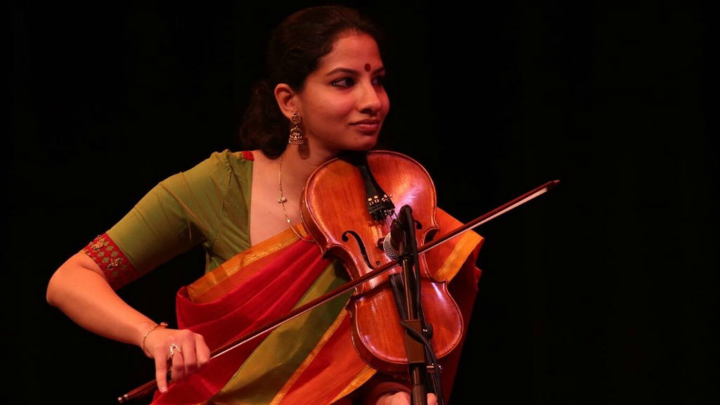 Carnatic artiste Shreya Devnath
